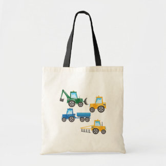 Multiple Tractors Tote Bag