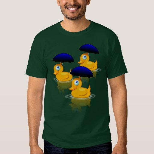 Multiple Umbrella Ducks Dresses