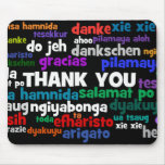 Multiple Ways to Say Thank You in Many Languages Mousepad