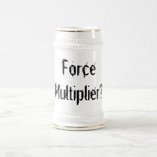 Multiplicador Stein de la fuerza Jarra De Cerveza