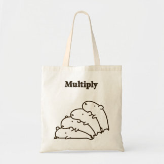 < Multiplication (brown) > Multiply (brown) Tote Bag