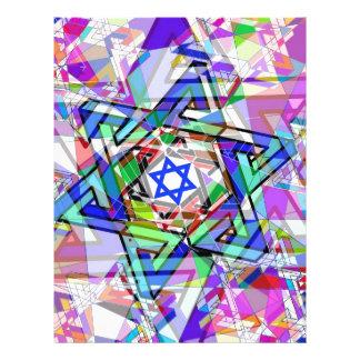 Multiplicidad de la estrella de David Membrete Personalizado