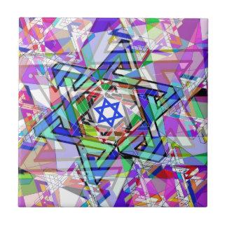 Multiplicidad de la estrella de David Tejas Cerámicas