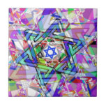 Multiplicity of the Star of David Ceramic Tile