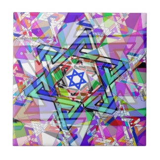Multiplicity of the Star of David Ceramic Tile