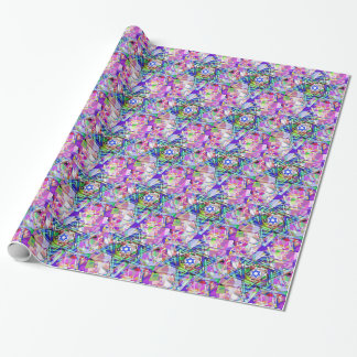 Multiplicity of the Star of David Wrapping Paper