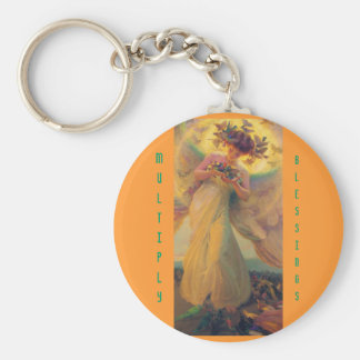 Multiply Blessings keychain