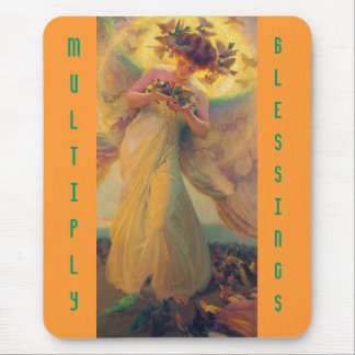 Multiply Blessings mousepad
