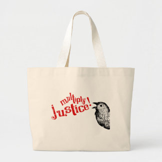 Multiply Justice! Large Tote Bag