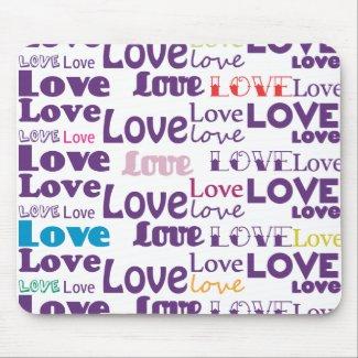 Multiply Love Mousepad zazzle_mousepad