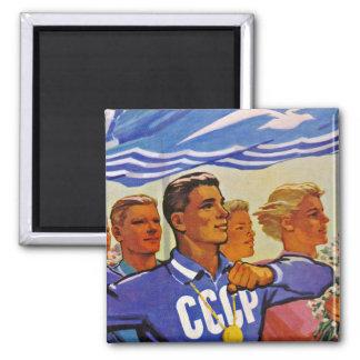 Multiply the Ranks of Soviet Sportsmen Magnet