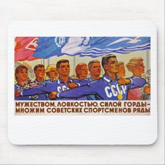 Multiply the Ranks of Soviet Sportsmen Mouse Pad
