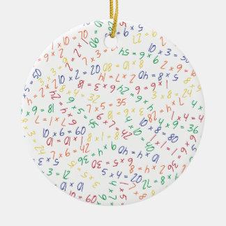 Multiplying Multiples Christmas Ornament