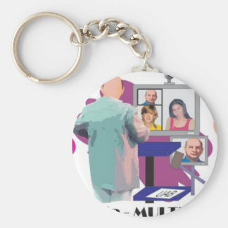 MULTIPONTO teleconferencia multipoint professor Keychain