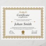 "Multipurpose Certificate<br><div class=""desc"">Printable Certificate of appreciation. Easy-to-customize Certificate Layout for any occassion</div>"