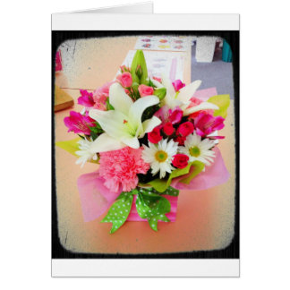 Multipurpose Floral Stationery Card