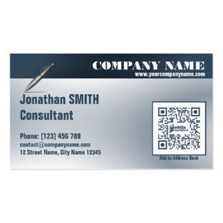 Multipurpose QR Code Business card - Consultant