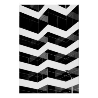 Multistoried building corners poster