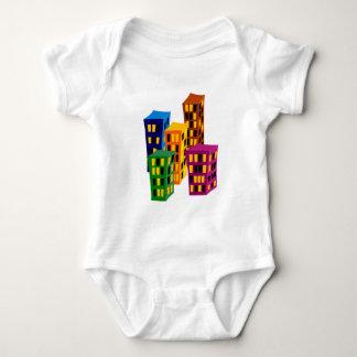 Multistoried buildings more tower buildings baby bodysuit