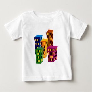 Multistoried buildings more tower buildings baby T-Shirt