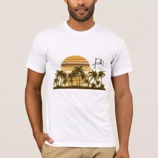MultiStripSunset T-Shirt