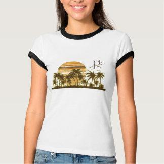 MultiStripSunsetRingerT T-Shirt