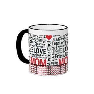 Multitalented Mom - Mother's Day, Birthday Ringer Mug
