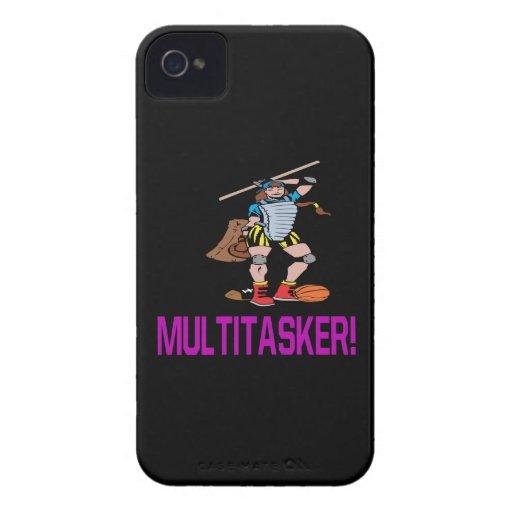 Multitasker iPhone 4 Fundas