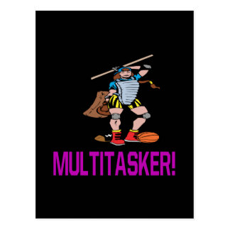 Multitasker Postcard