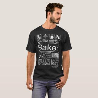 Multitasking Baker lifestyle tshirt