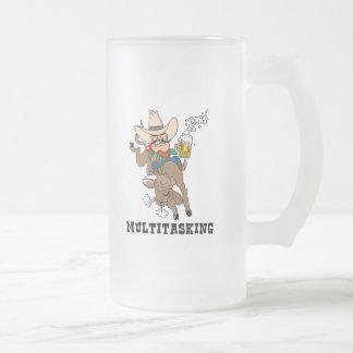 Multitasking Bull Rider Mug