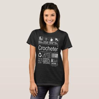 Multitasking Crocheter lifestyle tshirt