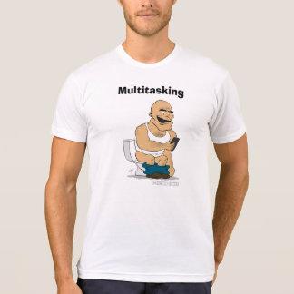 Multitasking - Funny cartoon shirts and apparel