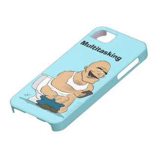Multitasking - Funny Smartphone Case iPhone 5 Covers