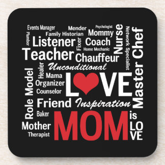 Multitasking Mom - Mother's Day or Mom's Birthday Drink Coaster