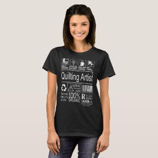 Multitasking Quilting Artist lifestyle tshirt