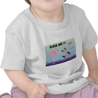 ¡Multitud apagado! Camisetas