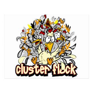 Multitud de Custer Tarjetas Postales