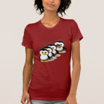 Multitud de pingüinos camisetas