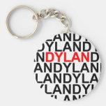 Multitudes de Dylans Llavero Personalizado