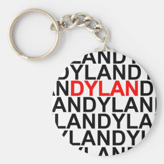 Multitudes of Dylans Keychain