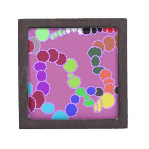 multiverse colorido en púrpura caja de regalo de calidad