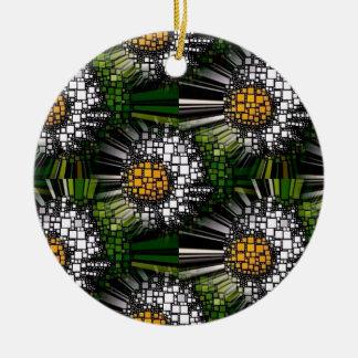 Multiverse Daisies Ceramic Ornament