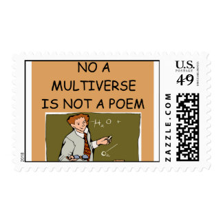 MULTIverse Timbre Postal