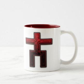 Multiwinia - survival of the flattest Two-Tone coffee mug