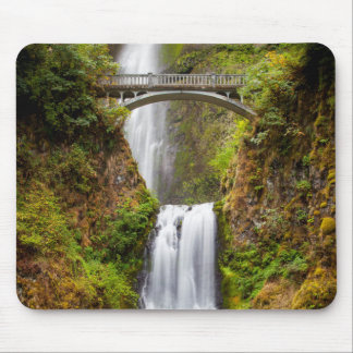 Multnomah Falls Along The Columbia River Gorge 2 Mouse Pad