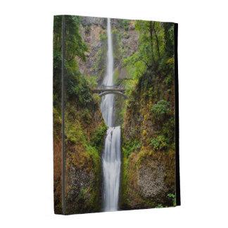 Multnomah Falls Along The Columbia River Gorge iPad Folio Covers