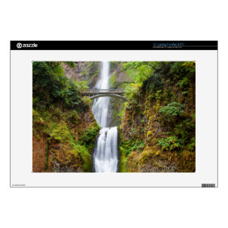 Multnomah Falls Along The Columbia River Gorge Laptop Skins