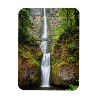 Multnomah Falls Along The Columbia River Gorge Magnet