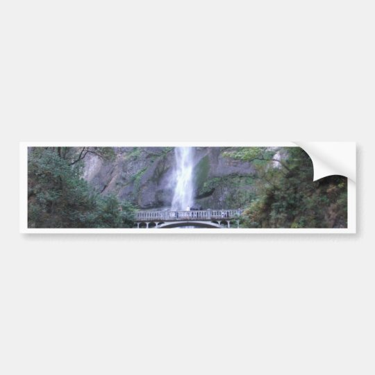 Multnomah Falls Bumper Sticker